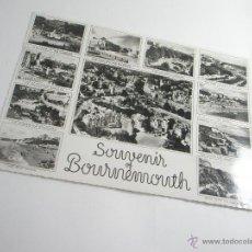 Postales: POSTAL-GRAN BRETAÑA-SOUVENIR BOURNEMOUTH-1950S-CIRCULADA-PERFECTO ESTADO-.. Lote 43120091