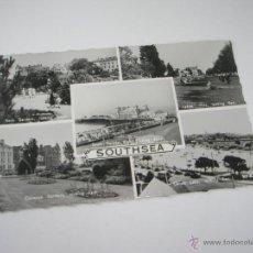 Postales: POSTAL-GRAN BRETAÑA-SOUTHSEA-1960S-CIRCULADA-BUEN ESTADO-.. Lote 43122488