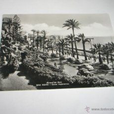Postales: POSTAL-ITALIA-SAN REMO-B/N-CORSO IMPERATRICE-ANTIGUA-NUEVA-.. Lote 43208502