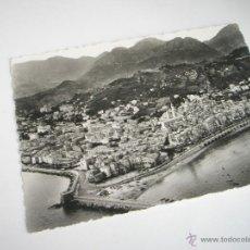 Postales: POSTAL-FRANCIA-MENTON-VISTA AEREA-B/N-.. Lote 43215834