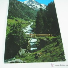 Postales: Aª POSTAL-SUIZA-ZINAL-VAL D´ANNIVIERS-VALAIS-LE BESSO-CIRCULADA-.. Lote 43237099