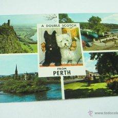 Postales: POSTAL-GRAN BRETAÑA-PERTH-CIRCULADA-1960S-.. Lote 43237322