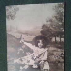 Postales: CARTA POSTAL NIÑA DE BULGARIA 1910. Lote 43271645