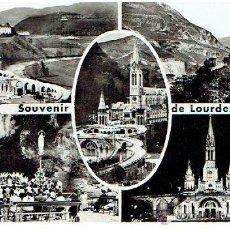 Postales: POSTAL DE FRANCIA, SOUVENIR DE LOURDES, CIRCULADA EN 1918 CON SELLO . Lote 43455919