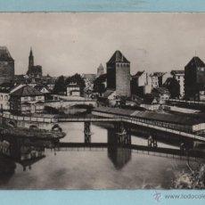 Postales: SIRASBOURG VISTA PARCIAL CIRCULADA EL AÑO 1948 VER FOTO. Lote 43467190