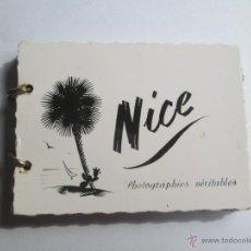 Postales: NICE PHOTOGRAPHIES VERITABLES SEPT RUE ALEXIS MOSSA 14 PETIT PHOTOS. Lote 43558560