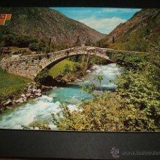Postales: SANT JULIA DE LORIA ANDORRA PONT DE LA MARGINEDA. Lote 43570921