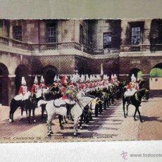 Postales: POSTAL, FOTO POSTAL, LONDON, WHITEHALL, TROQUELADA, 9 X 13 CM, SELLADA. Lote 43819607