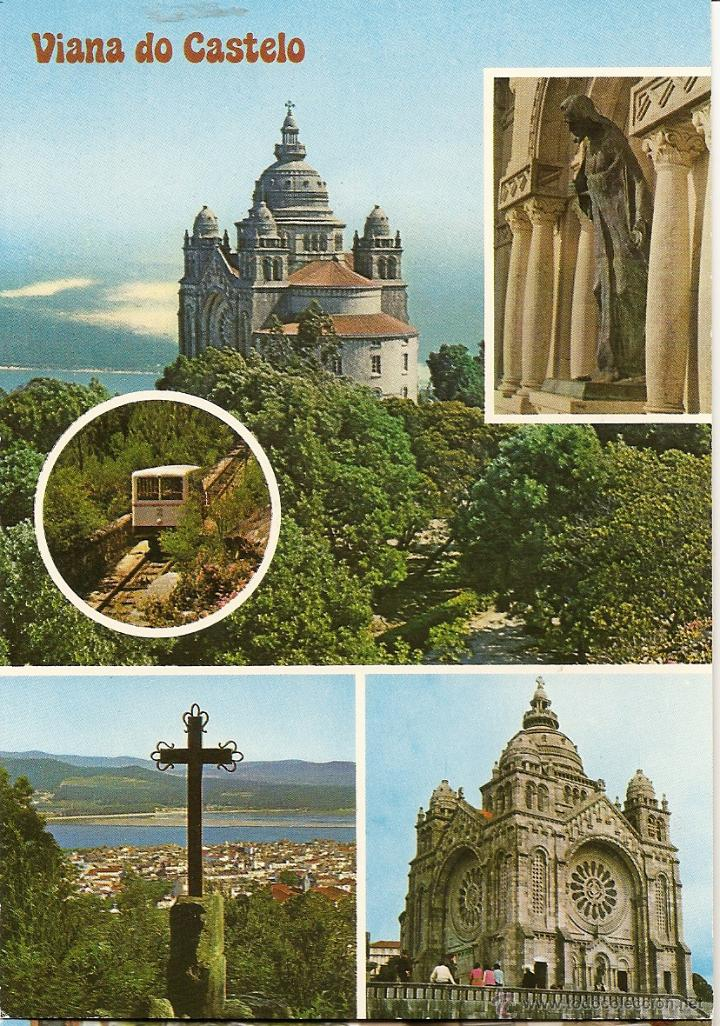 POSTAL MONTE SANTA LUCIA, VIANA DO CASTELO, PORTUGAL, SIN CIRCULAR (Postales - Postales Extranjero - Europa)