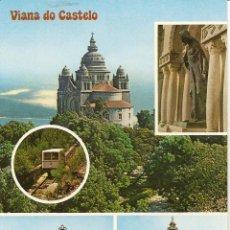 Postales: POSTAL MONTE SANTA LUCIA, VIANA DO CASTELO, PORTUGAL, SIN CIRCULAR. Lote 43935842