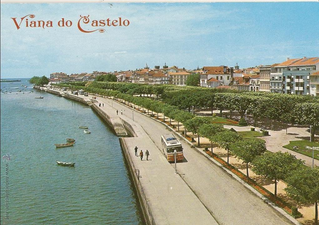 POSTAL AVENIDA MARGINAL, VIANA DO CASTELO, PORTUGAL, SIN CIRCULAR (Postales - Postales Extranjero - Europa)