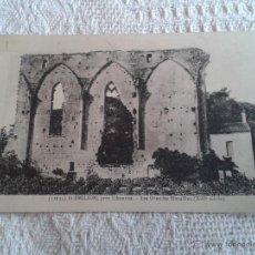 Postales: POSTAL DE ST. EMILION. PRES LIBOURNE. LES GRANDES MURAILLES (SIGLO XIII). ANTIGUA.. Lote 43989437