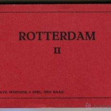Postales: ROTTERDAM BLOC DE 10 POSTALES EXCELENTES PRINCIPIOS SIGLO XX. Lote 44164794