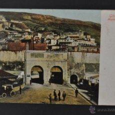 Postales: ANTIGUA POSTAL DE GIBRALTAR. MARKET PLACE. CIRCULADA. Lote 44169060