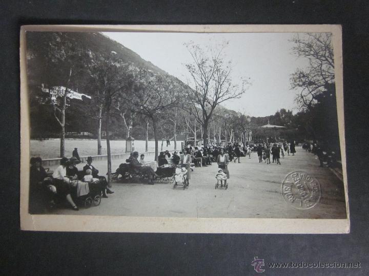 GIBRALTAR - POSTAL PROTOTIPO - FOTO PEGADA -VER FOTO ADICIONAL- FOTOGRAFICA ROISIN - (23811) (Postales - Postales Extranjero - Europa)