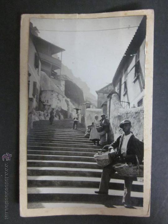 GIBRALTAR - POSTAL PROTOTIPO - FOTO PEGADA -VER FOTO ADICIONAL- FOTOGRAFICA ROISIN - (23813) (Postales - Postales Extranjero - Europa)