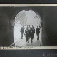 Postales: GIBRALTAR - POSTAL PROTOTIPO - FOTO PEGADA -VER FOTO ADICIONAL- FOTOGRAFICA ROISIN - (23814). Lote 44174930