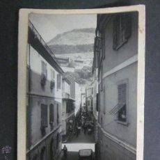 Postales: GIBRALTAR - POSTAL PROTOTIPO - FOTO PEGADA -VER FOTO ADICIONAL- FOTOGRAFICA ROISIN - (23819). Lote 44175222