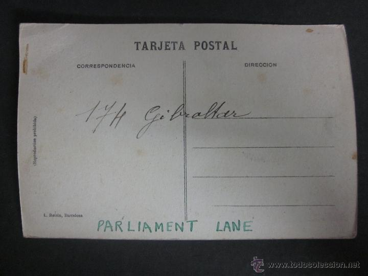 Postales: GIBRALTAR - POSTAL PROTOTIPO - FOTO PEGADA -VER FOTO ADICIONAL- FOTOGRAFICA ROISIN - (23819) - Foto 3 - 44175222