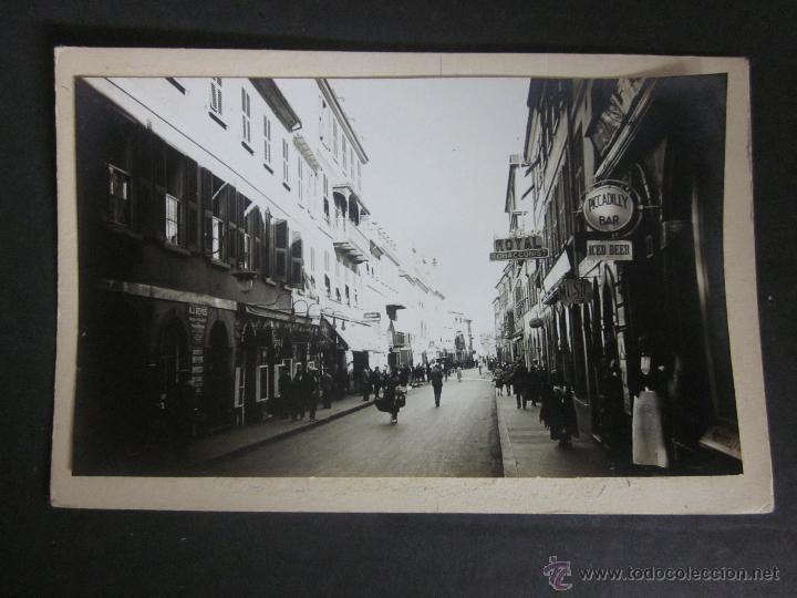 GIBRALTAR - POSTAL PROTOTIPO - FOTO PEGADA -VER FOTO ADICIONAL- FOTOGRAFICA ROISIN - (23821) (Postales - Postales Extranjero - Europa)