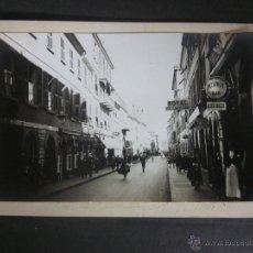 Postales: GIBRALTAR - POSTAL PROTOTIPO - FOTO PEGADA -VER FOTO ADICIONAL- FOTOGRAFICA ROISIN - (23821). Lote 44175248