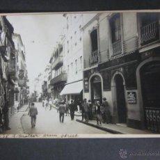 Postales: GIBRALTAR - POSTAL PROTOTIPO - FOTO PEGADA -VER FOTO ADICIONAL- FOTOGRAFICA ROISIN - (23824). Lote 44175282