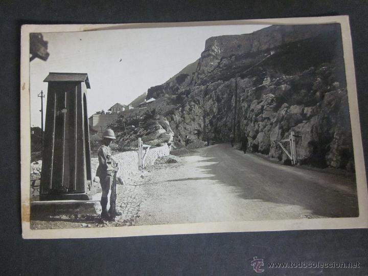 GIBRALTAR - POSTAL PROTOTIPO - FOTO PEGADA -VER FOTO ADICIONAL- FOTOGRAFICA ROISIN - (23826) (Postales - Postales Extranjero - Europa)