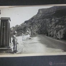 Postales: GIBRALTAR - POSTAL PROTOTIPO - FOTO PEGADA -VER FOTO ADICIONAL- FOTOGRAFICA ROISIN - (23826). Lote 44175319