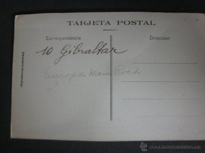 Postales: GIBRALTAR - POSTAL PROTOTIPO - FOTO PEGADA -VER FOTO ADICIONAL- FOTOGRAFICA ROISIN - (23826) - Foto 3 - 44175319