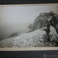 Postales: GIBRALTAR - POSTAL PROTOTIPO - FOTO PEGADA -VER FOTO ADICIONAL- FOTOGRAFICA ROISIN - (23828). Lote 44175352