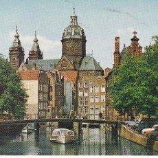 Postales: AMSTERDAM HOLLAND (SIN CIRCULAR). Lote 44239124