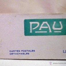 Postales: ALBUM, ALBIM DE POSTALES, PAU, CARTES POSTALES, 20 FOTOS, LE CHATEAU, 9 X 15 CM. Lote 44283080