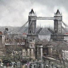 Postales: 9 TP DE LONDRES CON OBRAS DEL PINTOR MAURICE LEGENDRE - EDITADAS EN 1979 - SIN CIRCULAR. Lote 44440763