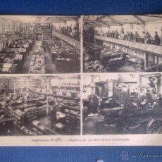 Postales: CARTE POSTALE - LIBRAIRIE PLON - PARIS -. Lote 44568783