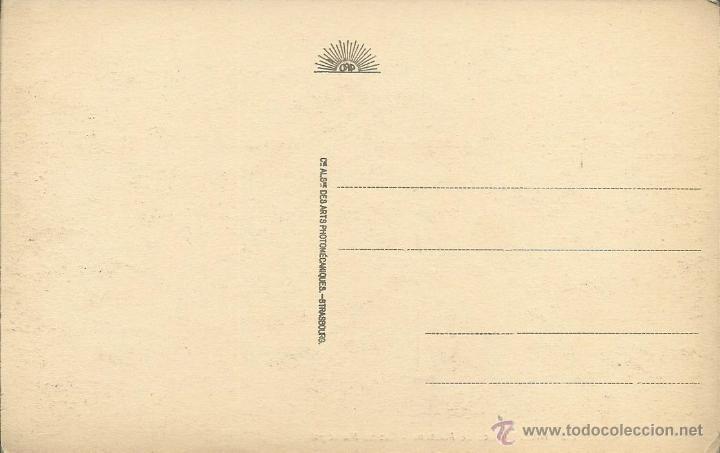 Postales: POSTAL DE FRANCIA -NICE PLACE MASSENA - CASINO MUNICIPAL SIN CIRCULAR AÑOS 30 FOTO STRASBOURG - Foto 2 - 44660660
