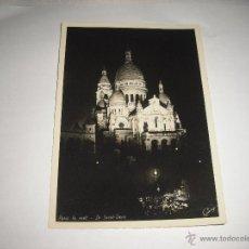 Cartoline: PARIS LA NUIT .LE SACRE COUR. Lote 44663060