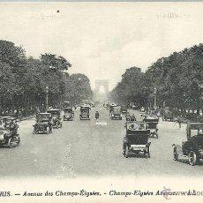 Postales: POSTAL DE PARIS Nº 7 VISTA AVD.CAMPOS ELYSEES Y ARCO DEL TRIUNFO - SIN CIRCULAR AÑOS 30. Lote 44663700