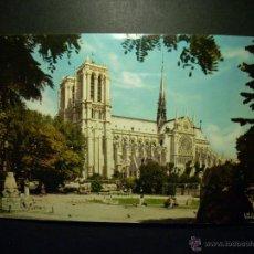 Postales: 7430 FRANCE ISLA DE FRANCIA PARIS NOTRE DAME POSTCARD POSTAL AÑOS 60/70 - TENGO MAS POSTALES. Lote 44684174