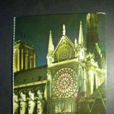 Postales: 7464 FRANCE ISLA DE FRANCIA PARIS CATHEDRALE NOTRE DAME POSTCARD AÑOS 60/70 - TENGO MAS POSTALES. Lote 44688361