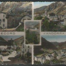 Postales: ANDORRA - ANDORRA LA VELLA. Lote 44694042