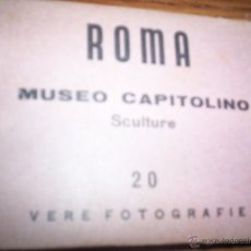 Postales: ROMA - 20 FOTOS - MUSEO CAPITOLINO - SOUVERNIRS. Lote 44706417