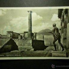Postales: 8081 ITALIA ITALY POMPEYA POMPEI POSTCARD POSTAL AÑOS 40/50 CIRCULADA SIN SELLO - TENGO MAS POSTALES. Lote 44797286