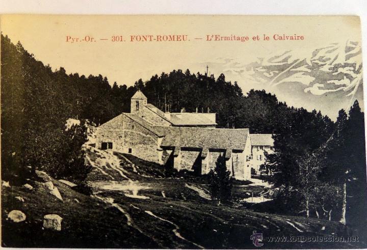 Postales: Colección de 30 Postales de FONT-ROMEU (Pirineos O.) de principios del siglo pasado. Sin circular - Foto 11 - 45069095
