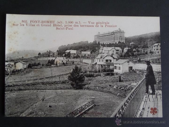 Postales: Colección de 30 Postales de FONT-ROMEU (Pirineos O.) de principios del siglo pasado. Sin circular - Foto 12 - 45069095