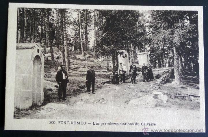 Postales: Colección de 30 Postales de FONT-ROMEU (Pirineos O.) de principios del siglo pasado. Sin circular - Foto 13 - 45069095