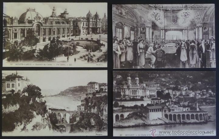 Postales: Colección de 16 postales de Mónaco de principios del siglo pasado. Ver descripción y fotografías - Foto 4 - 45099395