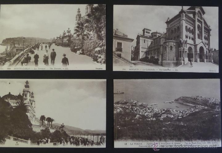 Postales: Colección de 16 postales de Mónaco de principios del siglo pasado. Ver descripción y fotografías - Foto 5 - 45099395