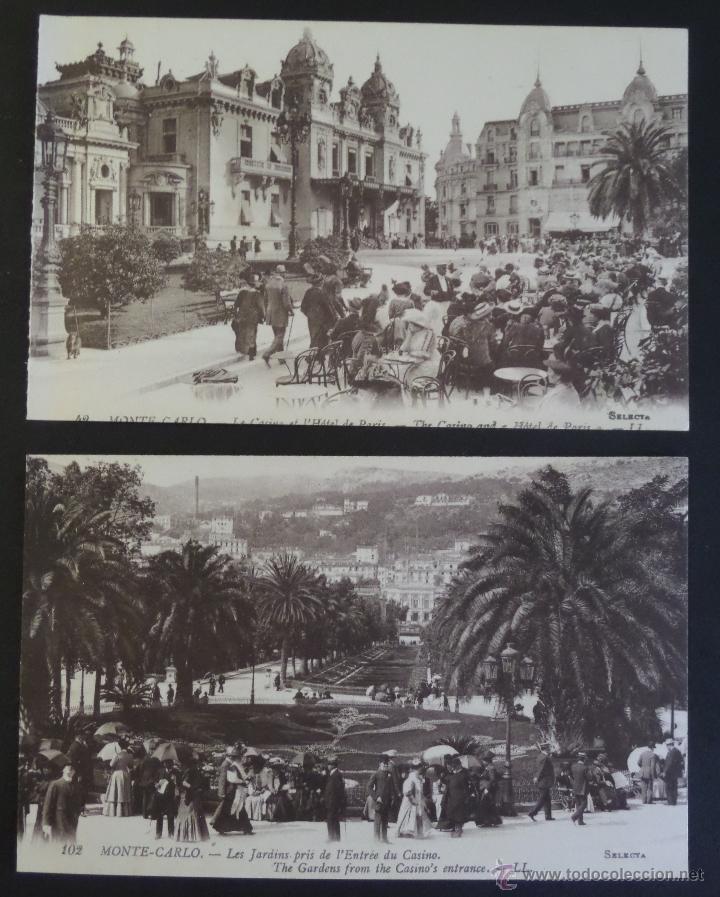 Postales: Colección de 16 postales de Mónaco de principios del siglo pasado. Ver descripción y fotografías - Foto 6 - 45099395