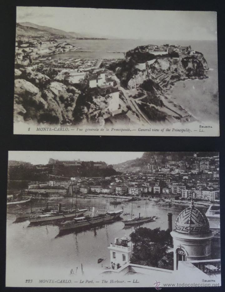 Postales: Colección de 16 postales de Mónaco de principios del siglo pasado. Ver descripción y fotografías - Foto 7 - 45099395