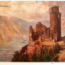 Postales: POSTAL CASTILLO RUINE EHRENFELS. BREMER & CO., KÖLN A. RH. . Lote 45133138
